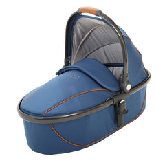 Strollers - Egg Carrycot - Gun Metal With Petrol Blue