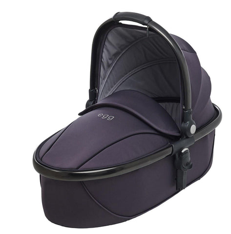 egg Carrycot - Gun Metal with Storm Grey - Carrycots - Natural Baby Shower