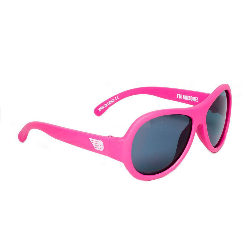 Babiators Original Aviator - Popstar Pink - Sunglasses - Natural Baby Shower