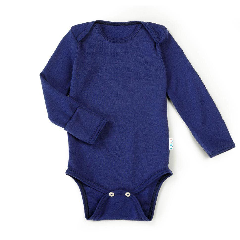 Superlove Merino Toddler Bodysuit - French Navy