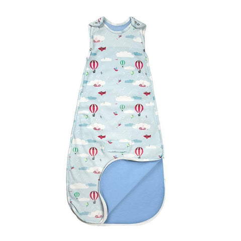 Superlove Merino & Organic Cotton Sleeping Bag in Up & Away