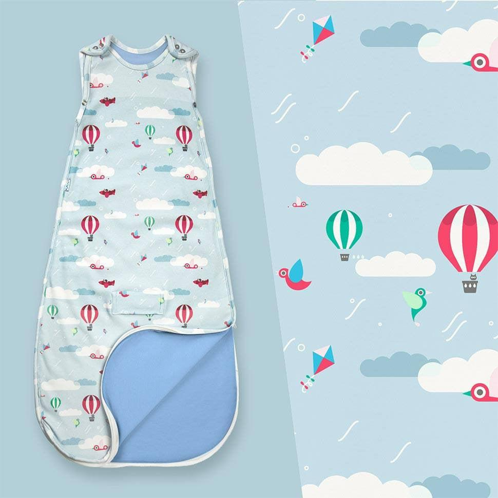 Superlove Merino & Organic Cotton Sleeping Bag in Up & Away Lifestyle