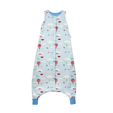 Superlove Organic Cotton & Merino Toddler Sleeping Bag Up & Away