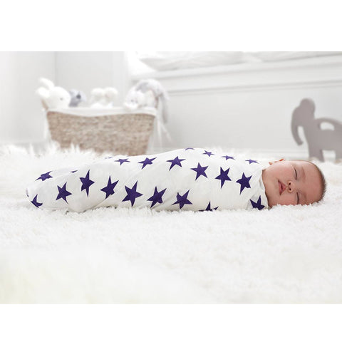 aden + anais Bamboo Swaddles - Celebration - 3 Pack - Swaddling Wraps - Natural Baby Shower