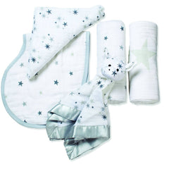 Swaddling Wraps - Aden & Anais New Beginnings Gift Set - Twinkle
