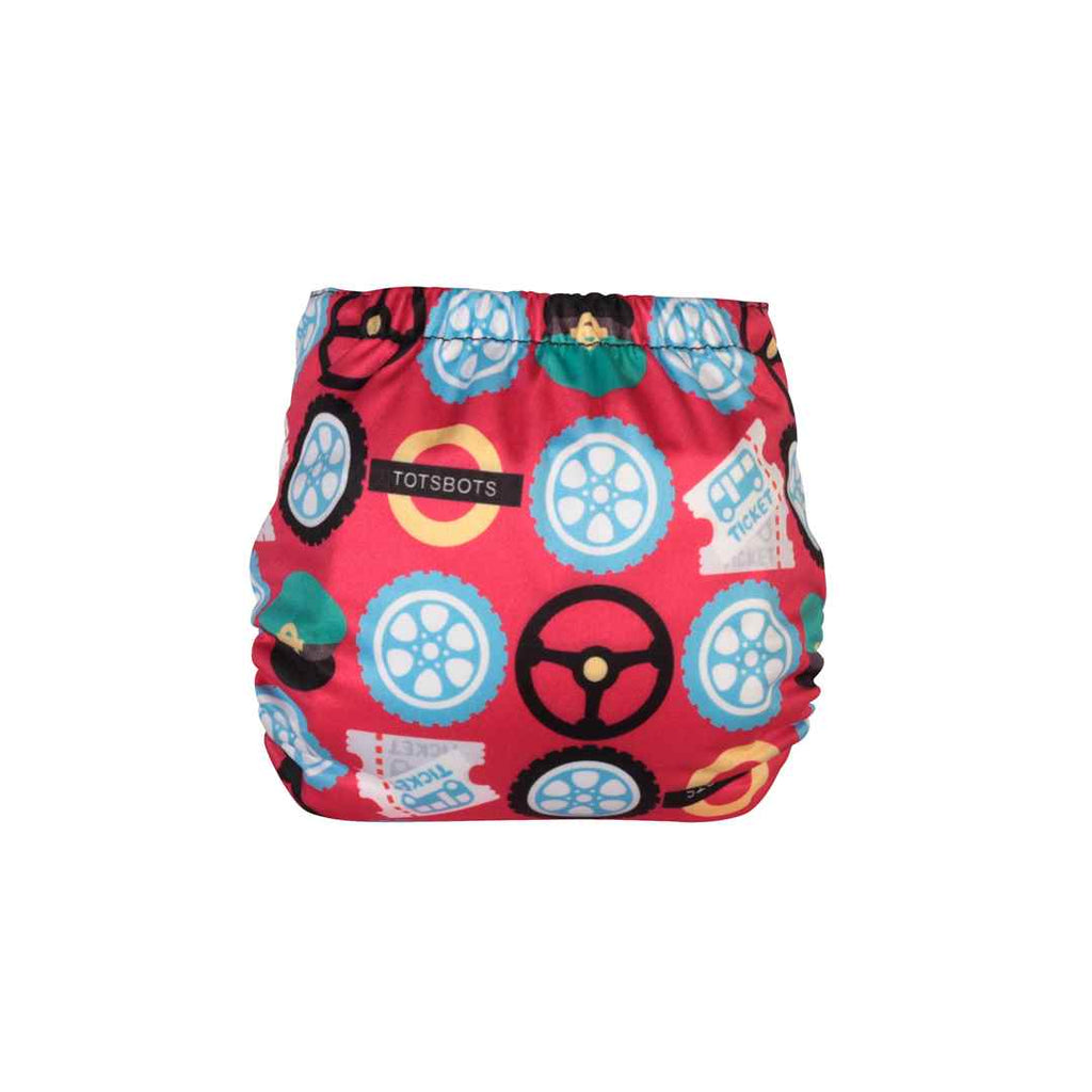 TotsBots Teenyfit Star Nappy - Wheels on the Bus-Nappies-Row Your Boat- Natural Baby Shower