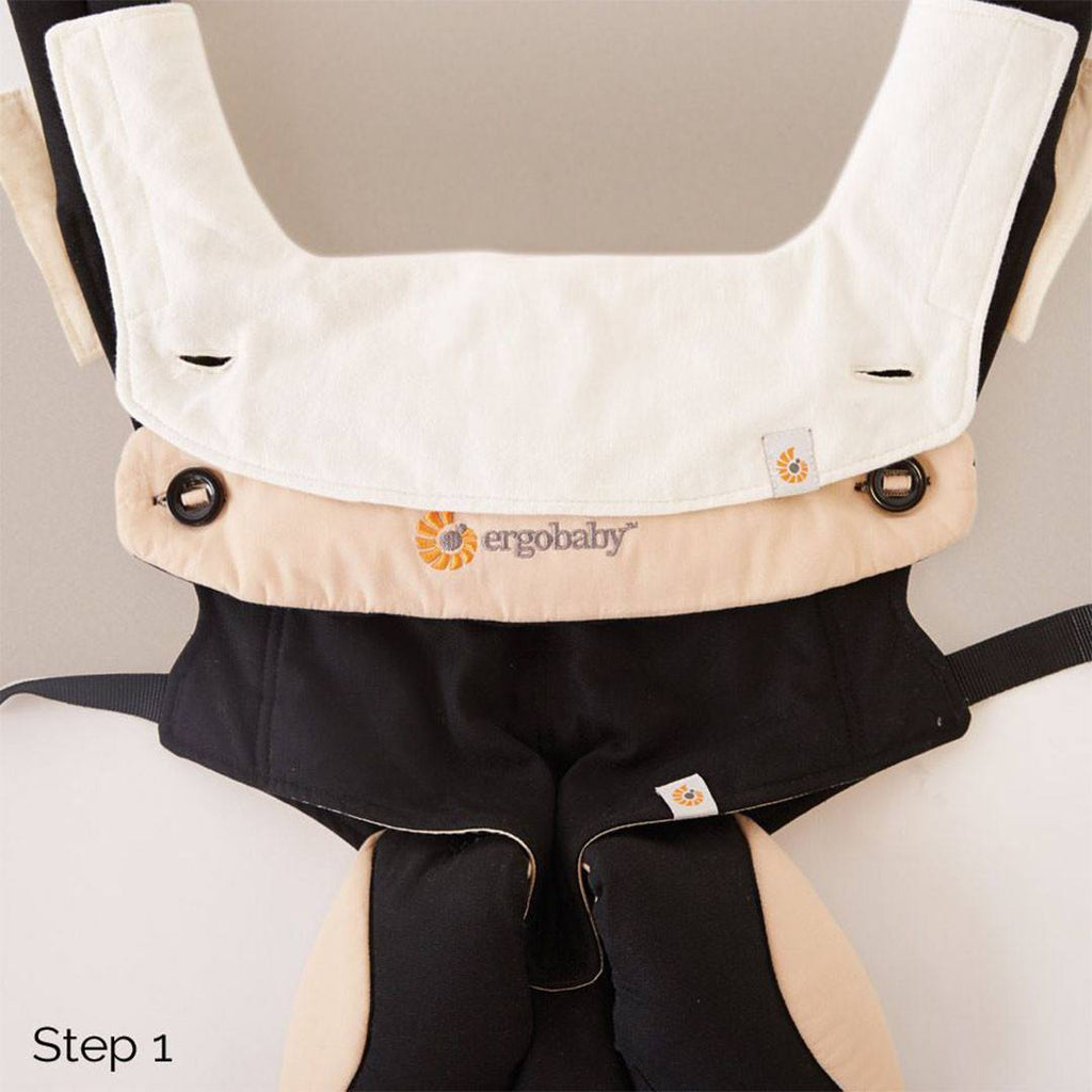 Ergobaby 360 Teething Pad + Bib - Natural - Teethers - Natural Baby Shower