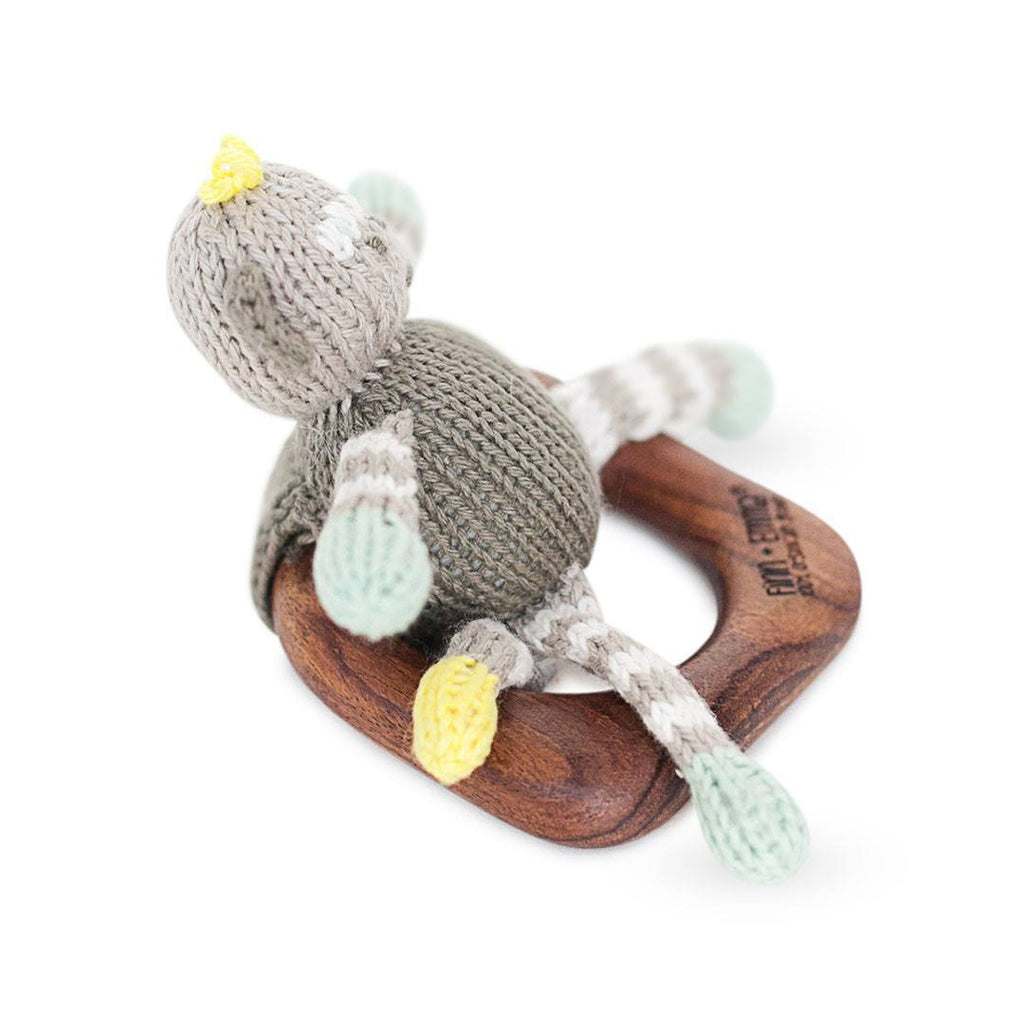 Finn + Emma Teething Ring - Theo the Monkey - Teethers - Natural Baby Shower