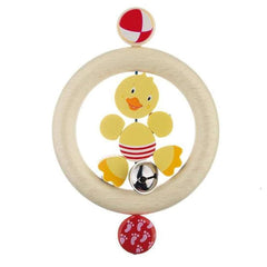Teethers - Heimess Wooden Touch Ring - Duck