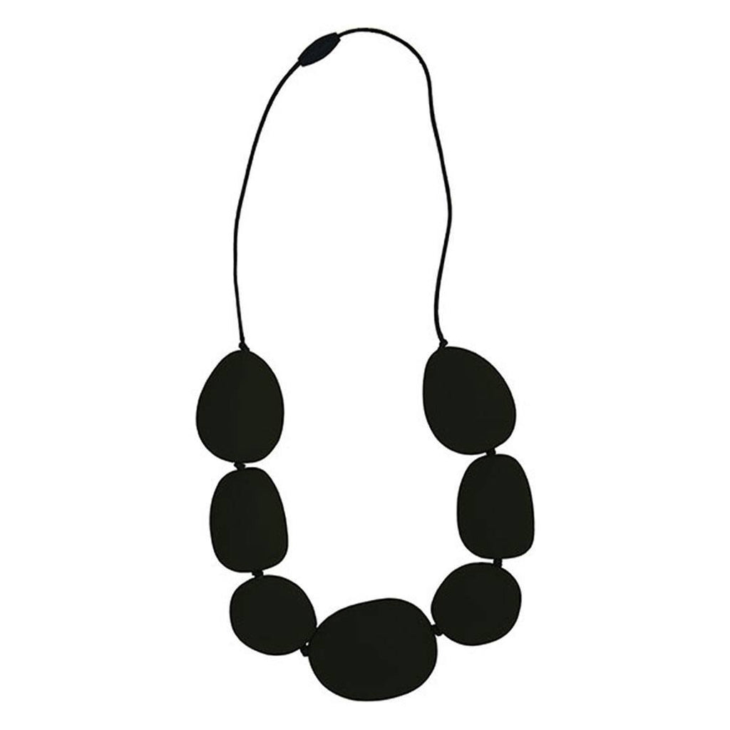Teethers - Jellystone Necklace - Smoky Black