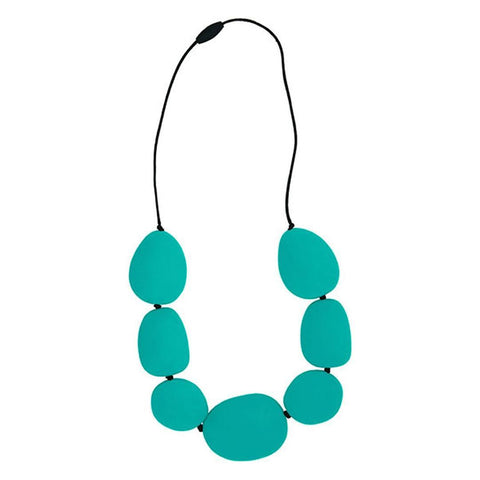 Teethers - Jellystone Necklace - Turquoise Baja