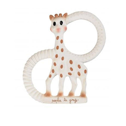 Sophie la Giraffe - So Pure Teething Ring - Teethers - Natural Baby Shower