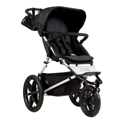 Mountain Buggy Terrain Pushchair - Onyx-Strollers- Natural Baby Shower