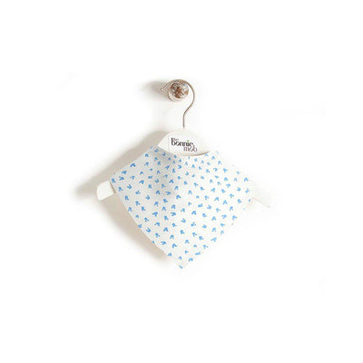 The Bonnie Mob Slurp Dribble Bib - Blue-Bibs-Blue- Natural Baby Shower