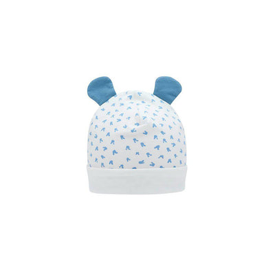 The Bonnie Mob Softie Hat + Ears - Blue-Hats-Blue-6-12m- Natural Baby Shower