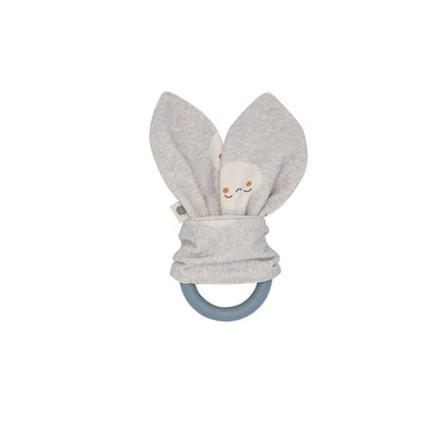 The Bonnie Mob Starry Teething Ring - Grey-Teethers- Natural Baby Shower