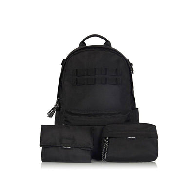 Tiba + Marl Eco Changing Backpack - Black-Changing Bags- Natural Baby Shower