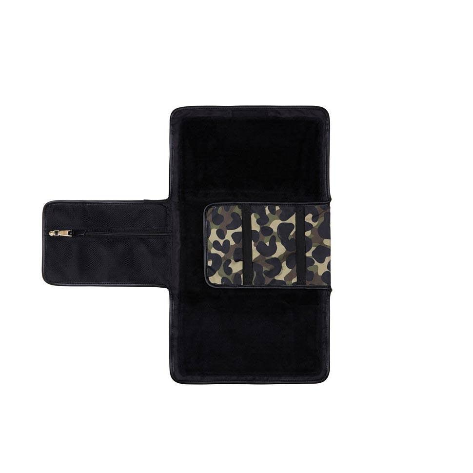 Tiba + Marl Etta Changing Clutch - Camo-Changing Mats & Covers- Natural Baby Shower