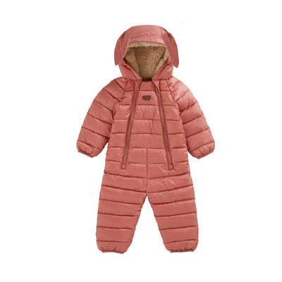 TOASTIE Eco-Fill Onesie - Desert Pink-Coats & Snowsuits- Natural Baby Shower
