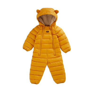 TOASTIE Eco-Fill Onesie - Soft Ochre-Coats & Snowsuits- Natural Baby Shower