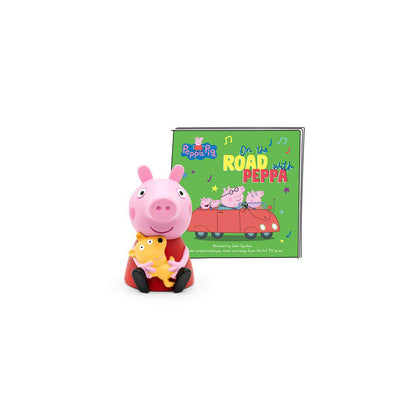 Tonies Peppa Pig - On the Road with Peppa-Play Set Characters- Natural Baby Shower