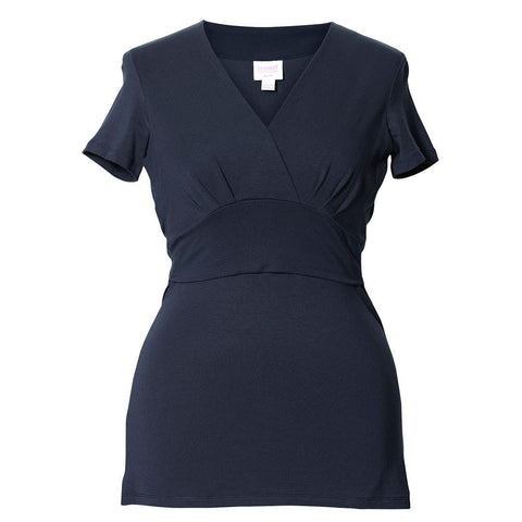 Tops & T-shirts - Boob Maternity & Nursing Short Sleeve Sophia Top - Ink Blue