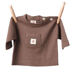 Tops & T-shirts - Nurtured By Nature Top - Pure Merino - Chocolate