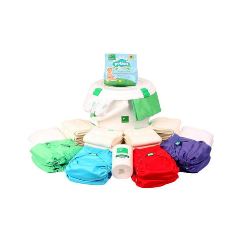 Nappy Packs - TotsBots PeeNut Birth To Potty Kit