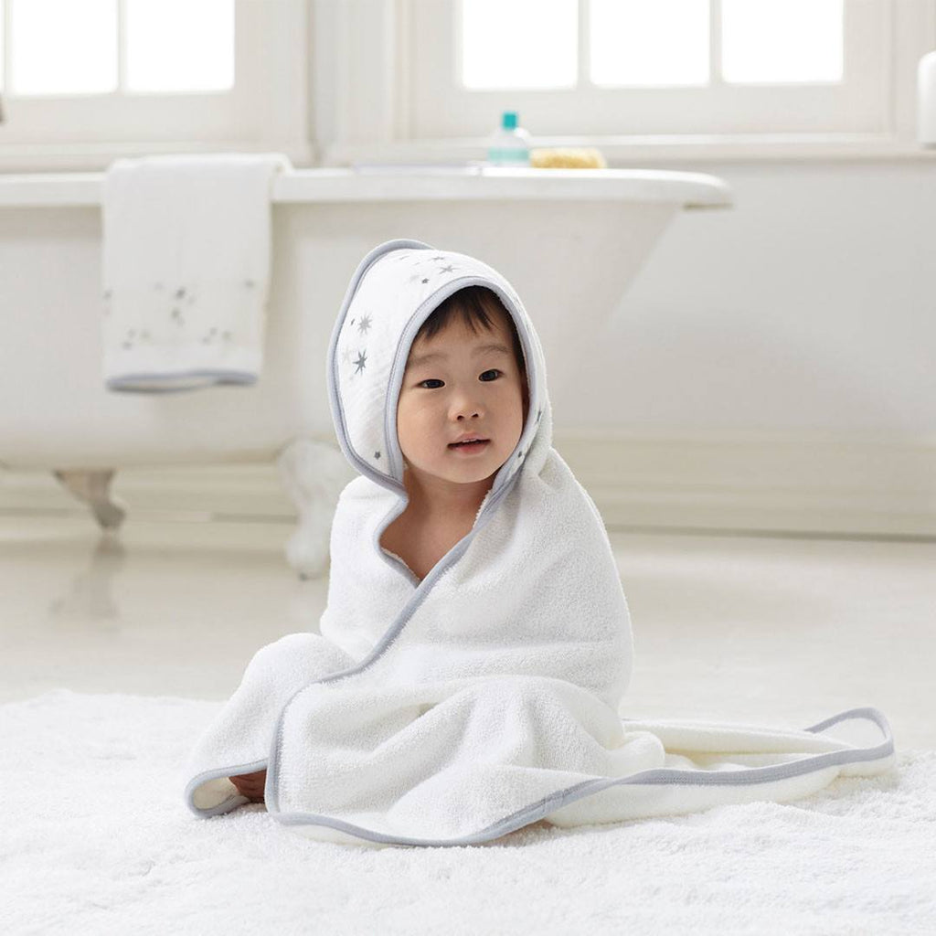 Towels & Robes - Aden & Anais Hooded Towel & Washcloth - Twinkle