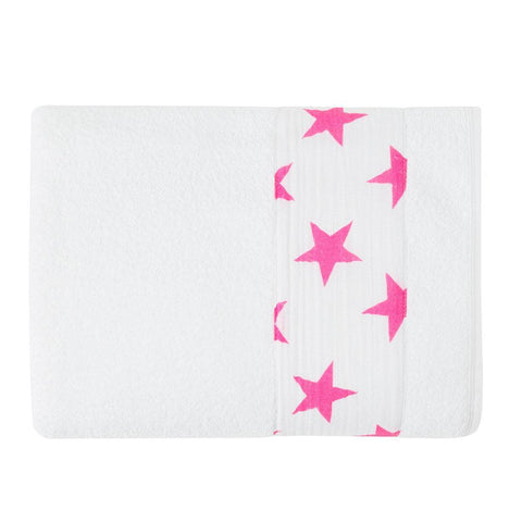 Towels & Robes - Aden & Anais Toddler Towel - Fluro-Pink