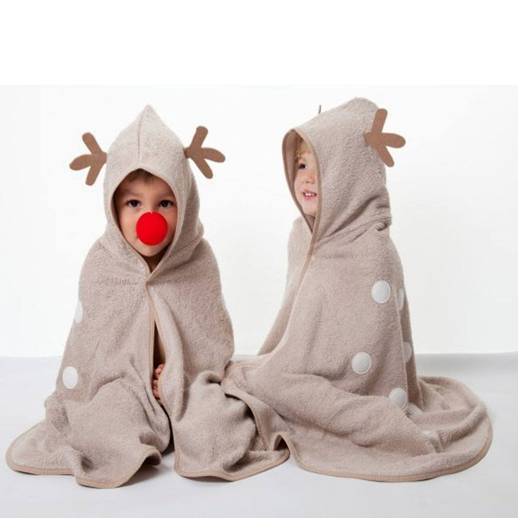 Towels & Robes - Cuddledry CuddleDeer Toddler Towel