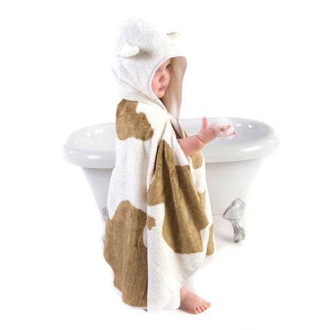 Cuddledry CuddleMoo Toddler Towel - Towels & Robes - Natural Baby Shower
