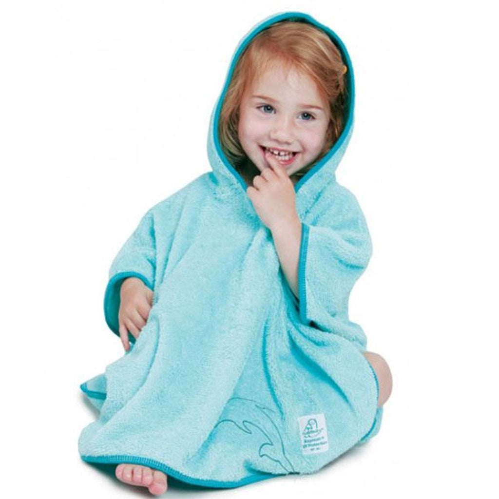 Cuddledry SPF50 Poncho Towel - Turquoise - Towels & Robes - Natural Baby Shower