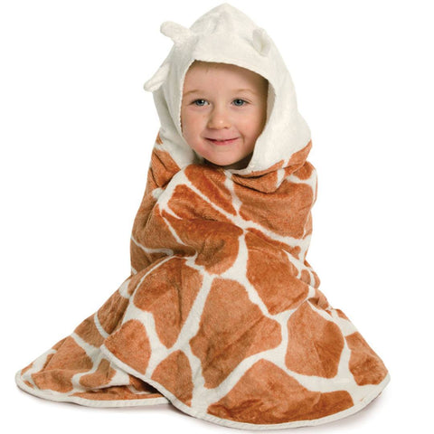 Cuddledry Toddler Towel Safari - Towels & Robes - Natural Baby Shower
