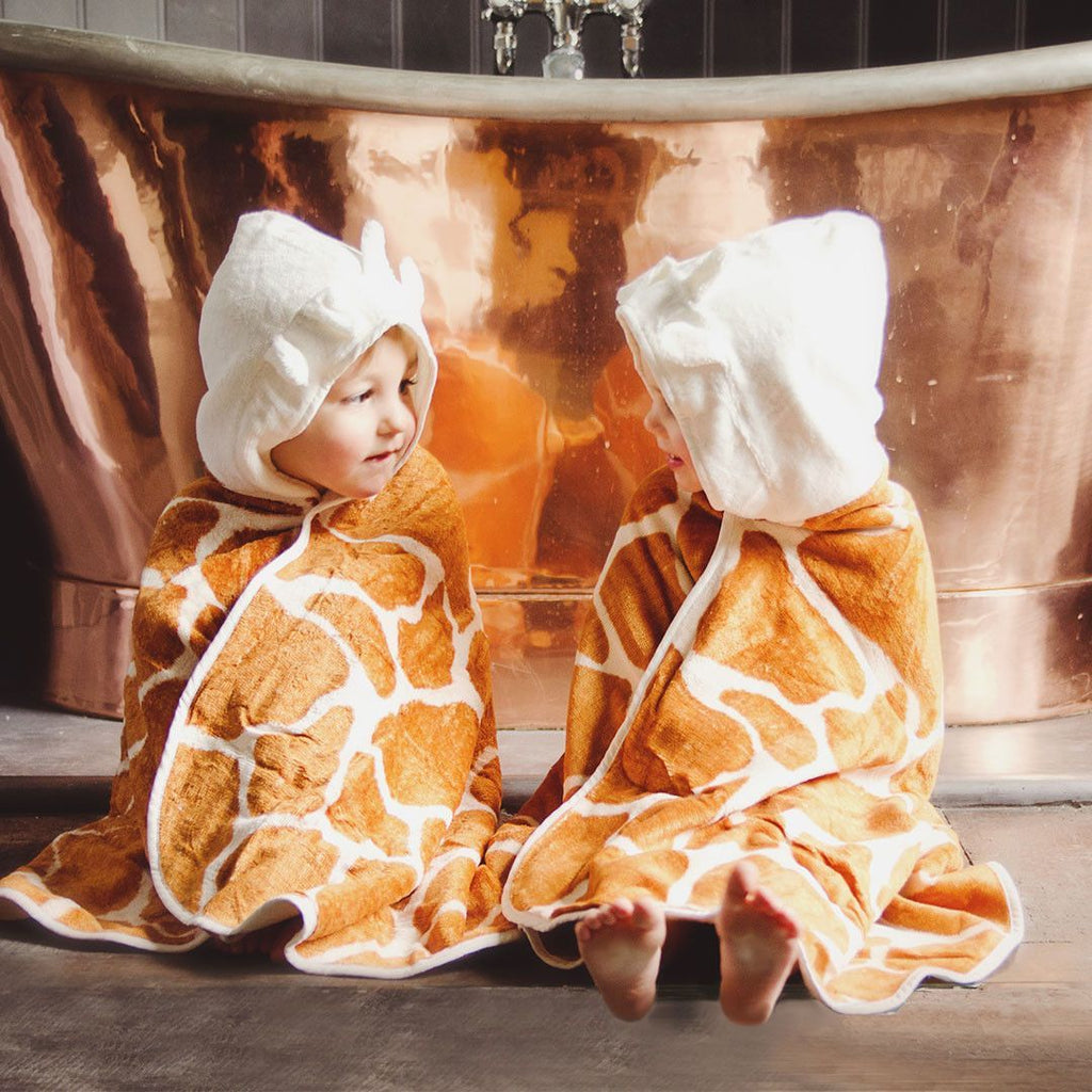 Towels & Robes - Cuddledry Toddler Towel Safari