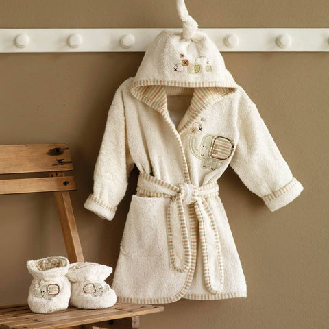 Towels & Robes - Natures Purest Bathrobe - Sleepy Safari