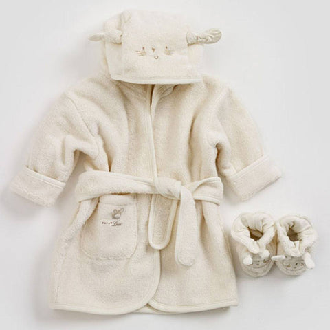 Towels & Robes - Natures Purest Bathrobe & Slippers - Pure Love