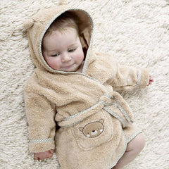 Towels & Robes - Natures Purest Bathrobe - Teddy & Ele