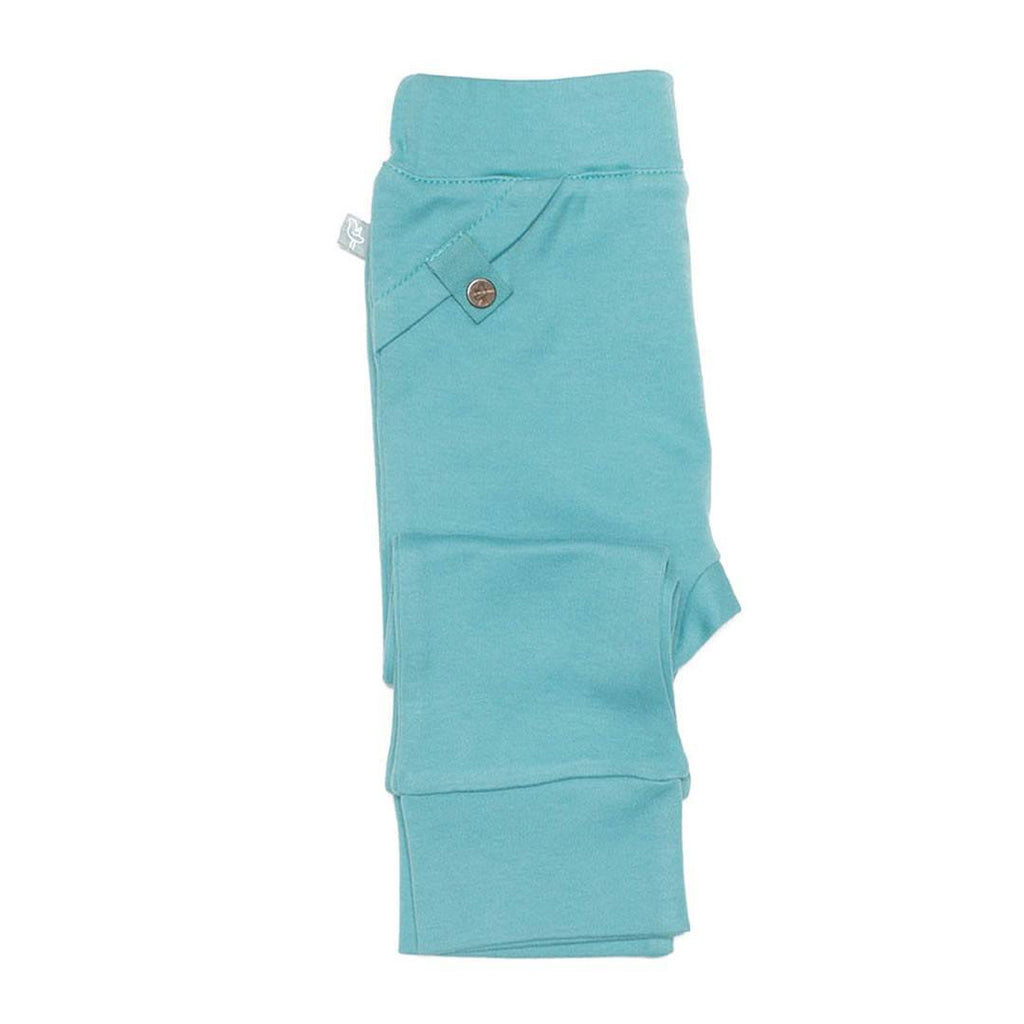 Finn + Emma Pants - Dusty Turquoise - Trousers & Leggings - Natural Baby Shower