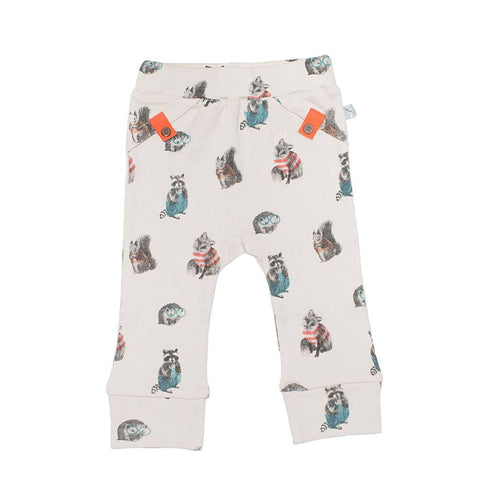 Finn + Emma Pants - Woodland - Trousers & Leggings - Natural Baby Shower