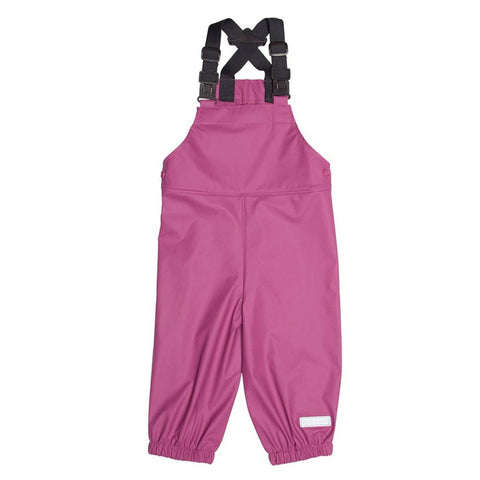 Trousers & Leggings - MINI A TURE Rubi Salopettes - Red Violet