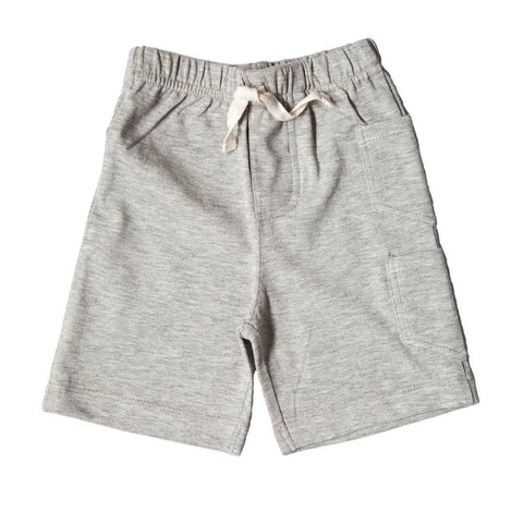 Trousers & Leggings - Nui Organics Kavi Shorts - Organic Cotton - Silver
