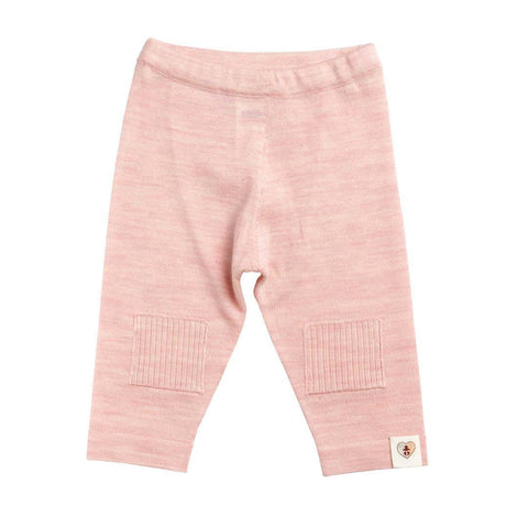Trousers & Leggings - Nurtured By Nature Pantalon - Pure Merino - Candytuft