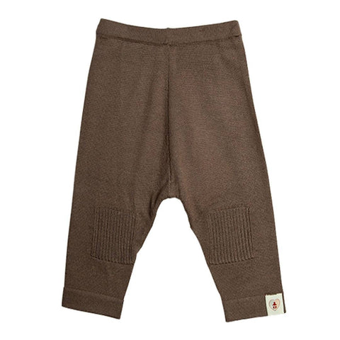 Trousers & Leggings - Nurtured By Nature Pantalon - Pure Merino - Chocolate