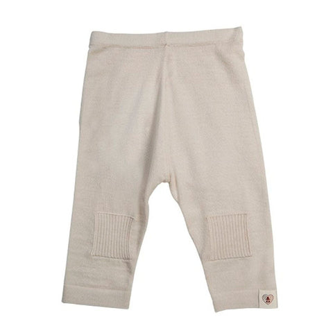 Trousers & Leggings - Nurtured By Nature Pantalon - Pure Merino - Cream