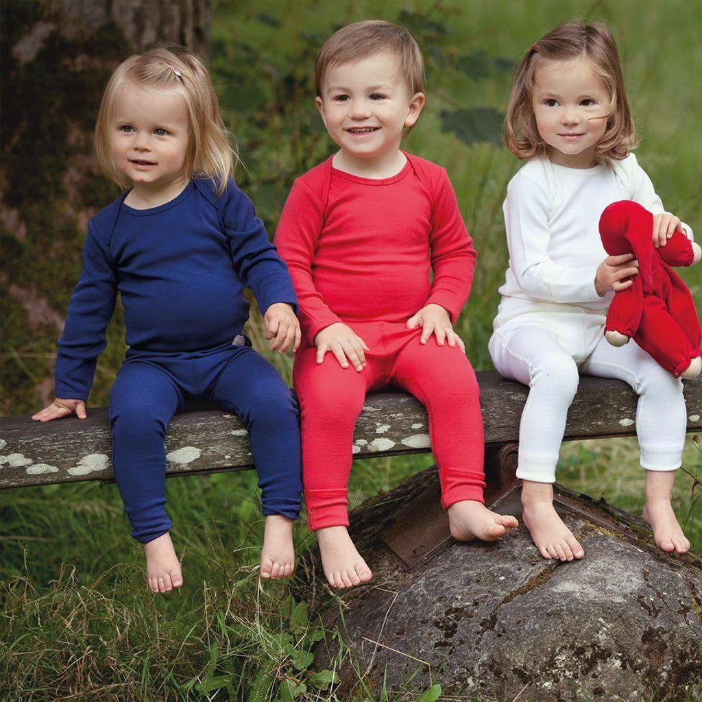 Trousers & Leggings - Superlove Merino Baby Leggings - French Navy
