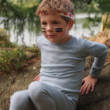 Superlove Merino Kids Leggings - Dove Grey - Trousers & Leggings - Natural Baby Shower
