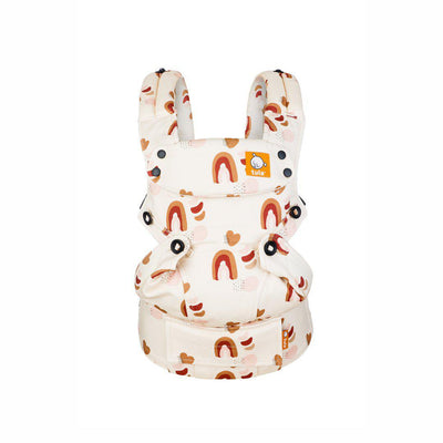 Ex-Display - Tula Explore Carrier - Rosewood Rainbows-Baby Carriers- Natural Baby Shower