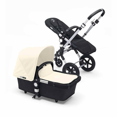 Bugaboo Cameleon3 in Aluminium + Black + Off White