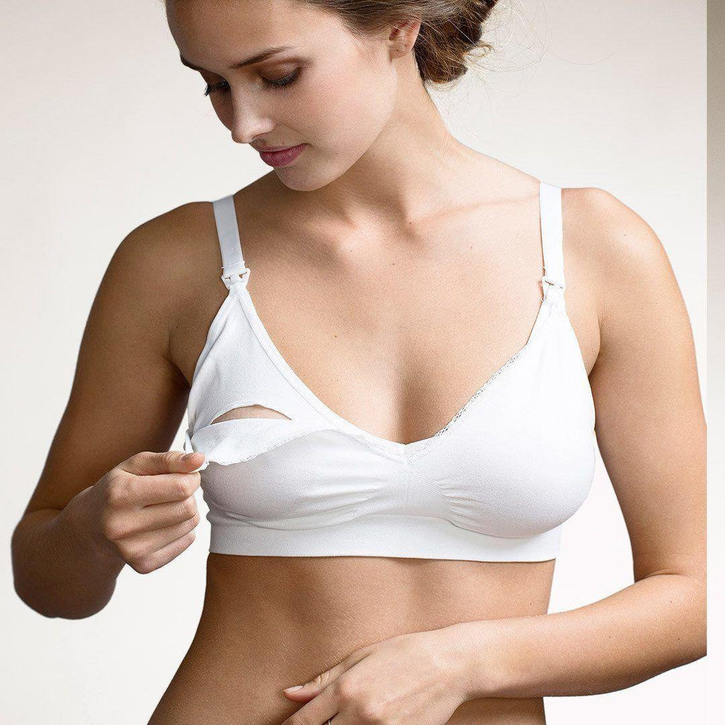 Underwear - Boob Fast Food Bra - White